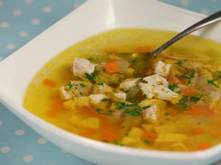 Supa de Pui cu Legume si Orez