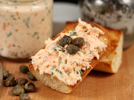 Rillette de somon