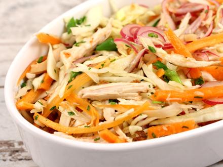 Salata cu piept de pui ingrasa